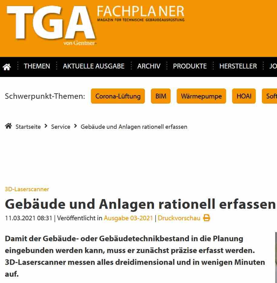 TGA Magazin